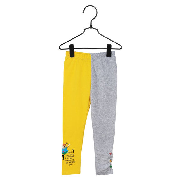 Pippi Quote Legging Yellow – Pippi Langkous