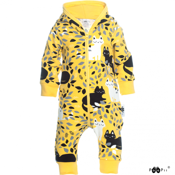 Jumpsuit RIEMU overall Hide and seek Yellow – Paapii Design