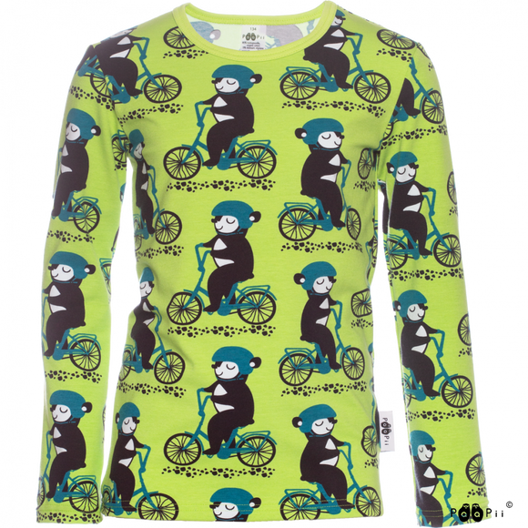 Longsleeve Nooa Into the Cyclist 128 t/m 164 – Paapii Design