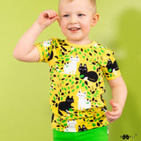 T-shirt VISA Hide and seek Yellow 86-122 – Paapii Design