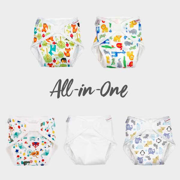 Pre-order - All-in-One Cloth Nappy wasbare luier – ImseVimse