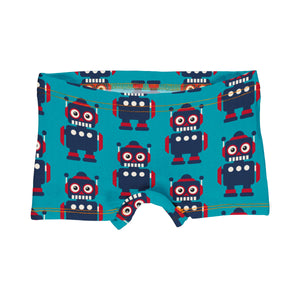 Hipster Briefs Boxers Robot - Maxomorra Classic Collection
