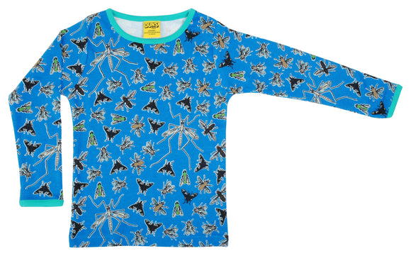 Longsleeve Flies Blue - Duns Sweden