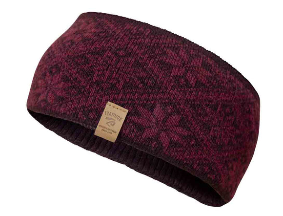 Hoofdband / Headband Elsie Red Plum – Ivanhoe of Sweden