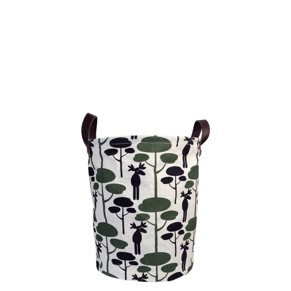 Moose canvas storage bag small  - Pluto Produkter