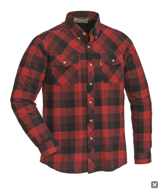 Blouse / shirt Lumbo red - Pinewood Outdoor Life