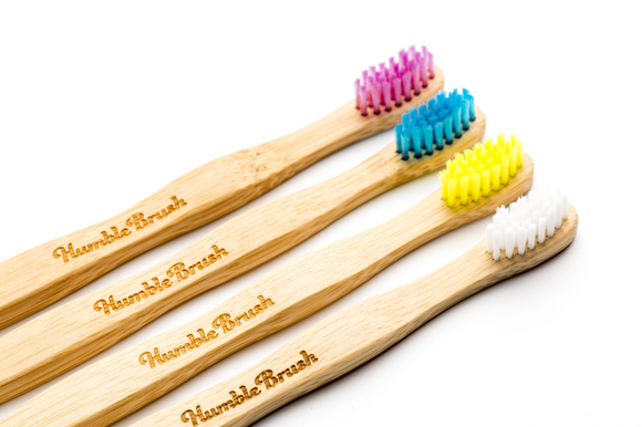 Bamboe tandenborstel kids soft - Humble Brush