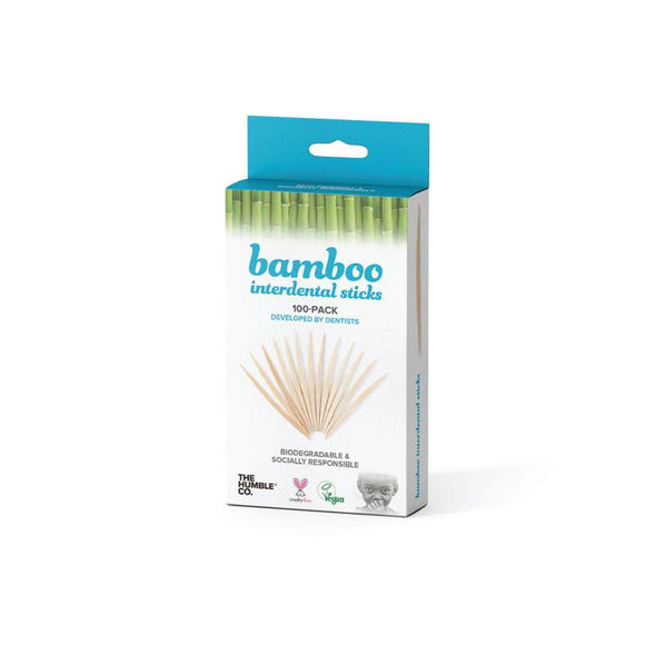 Bamboo Interdental Sticks / tandenstokers - Humble Co.