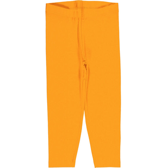 Legging Cropped 3/4 Solid Tangerine - Maxomorra - Classic Collection