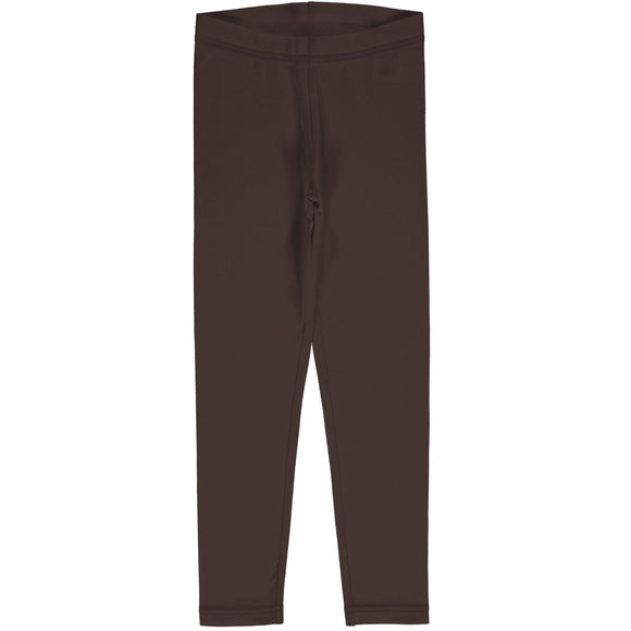 Legging Solid Chocolate - Maxomorra