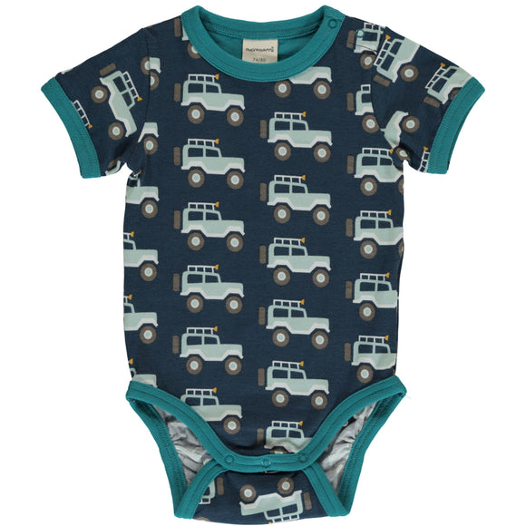 Body / romper SS Jeep Adventure - Maxomorra