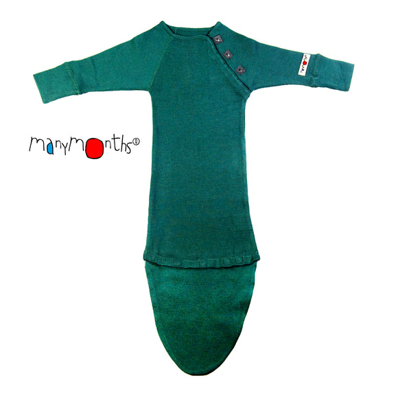 Woollies Sleeping Bag with Extension Sequoia Green – ManyMonth MaMidea