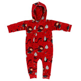 Onesie / Rompersuit Roodkapje / Little Miss Crimson – Raspberry Republic