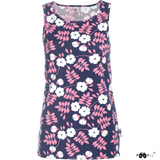 Soli Top Midsummer rose blueberry XS-XXL - Paapii Design
