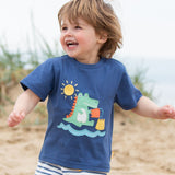 T-shirt Croc Castle - Kite Clothing