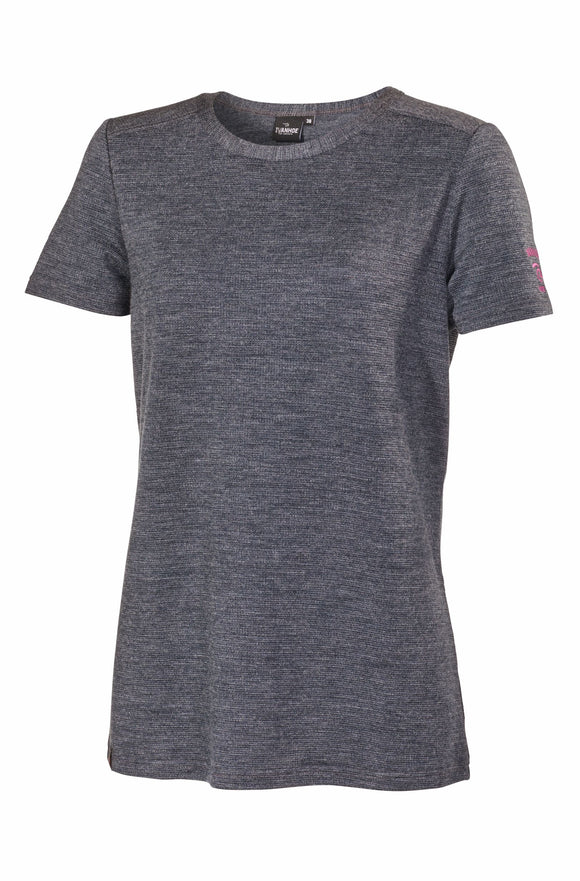 T-shirt Tencel / Merino Siri Short Sleeve  – Ivanhoe of Sweden