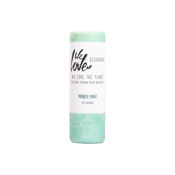 Natuurlijke deodorant stick Mighty Mint – We Love The Planet
