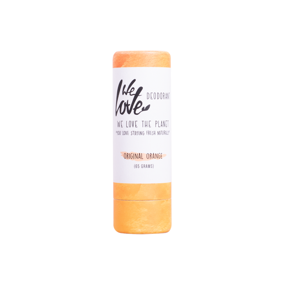 Natuurlijke deodorant stick Original Orange  – We Love The Planet