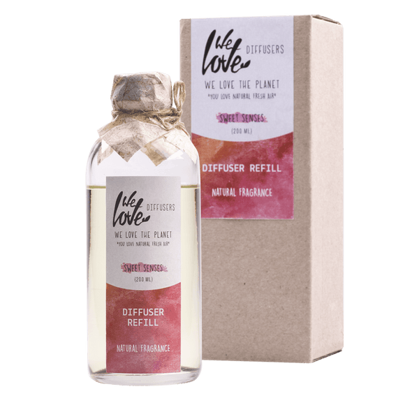 Diffuser Sweet Senses navulfles 200 ml - We Love The Planet