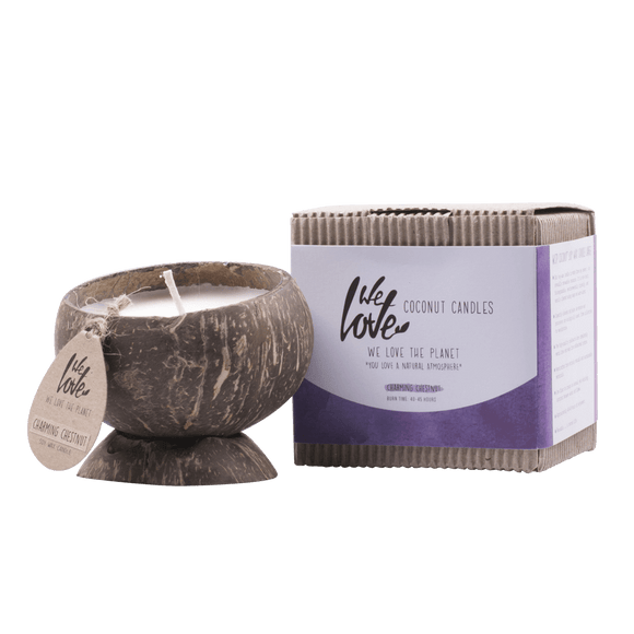 Coconut Candle (Soja) Charming Chestnut - We Love The Planet