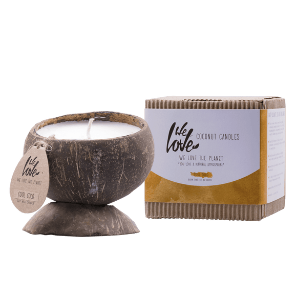Coconut Candle (Soja) Cool Coco - We Love The Planet