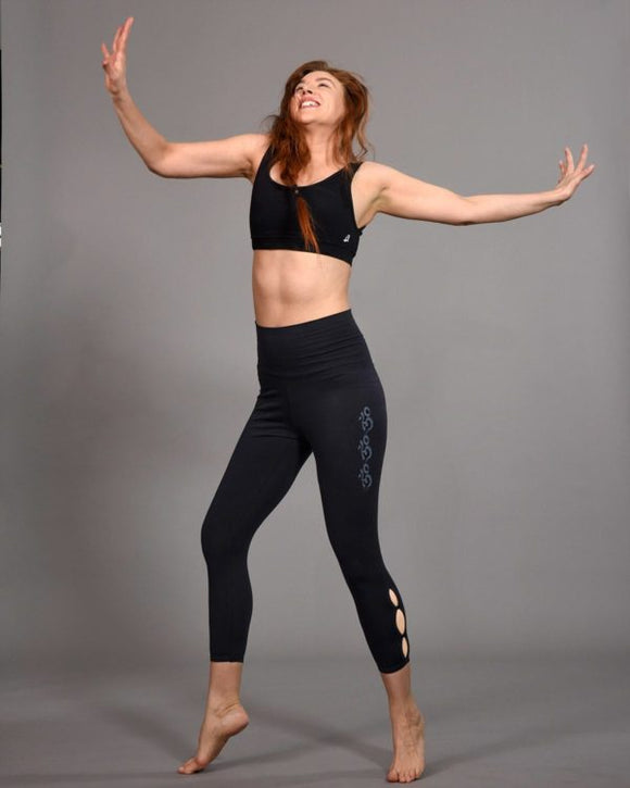 Yoga legging Kya Black - B-Light Organic Clothing