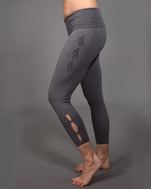Yoga legging Kya Gray - B-Light Organic Clothing
