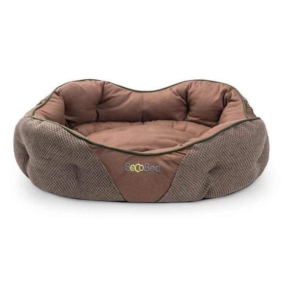 Beco Donut bed hennep XS brown - Beco Pets