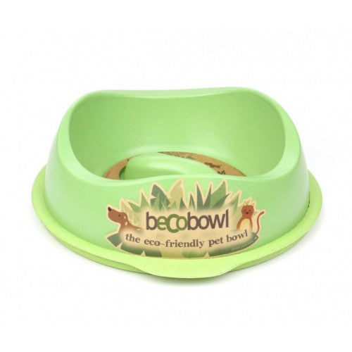 Beco Bowl Slow Feed Green - Beco Pets