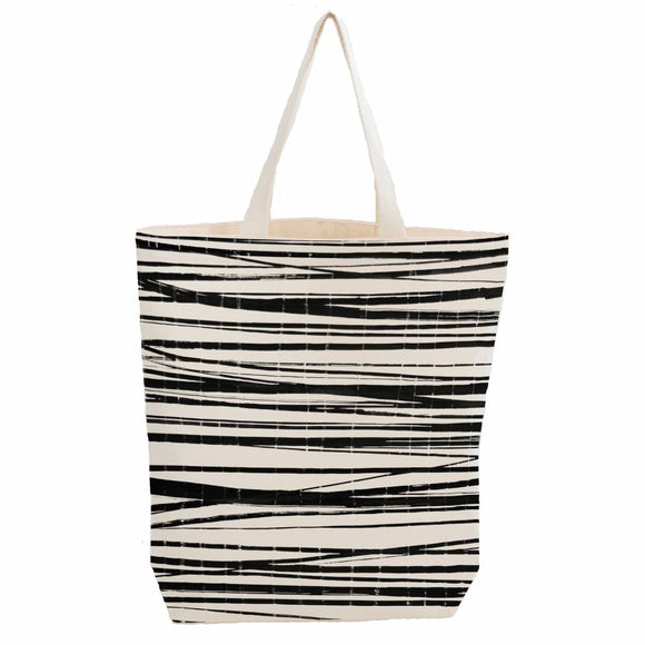 City bag met binnenzakje 'wrapping stripes' – Bo Weevil
