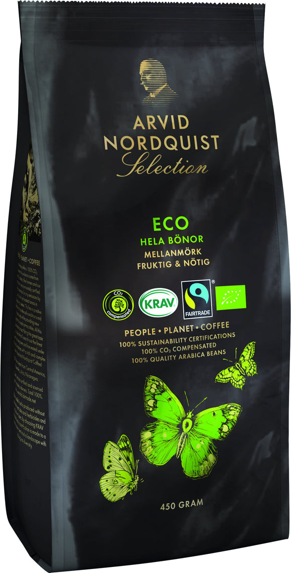 Koffiebonen bio medium-dark roast - ­ Arvid Nordquist