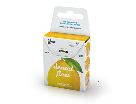 Dental Floss Lemon – The Humble Co.