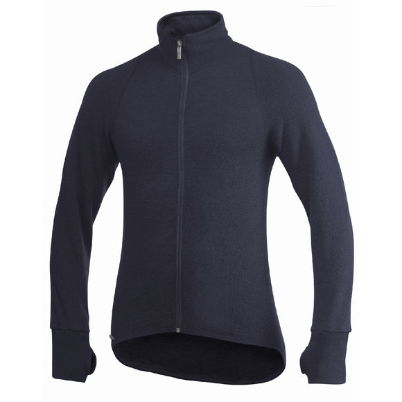 Vest / Full Zip Unisex Jacket 400 Blue - Woolpower - Op bestelling
