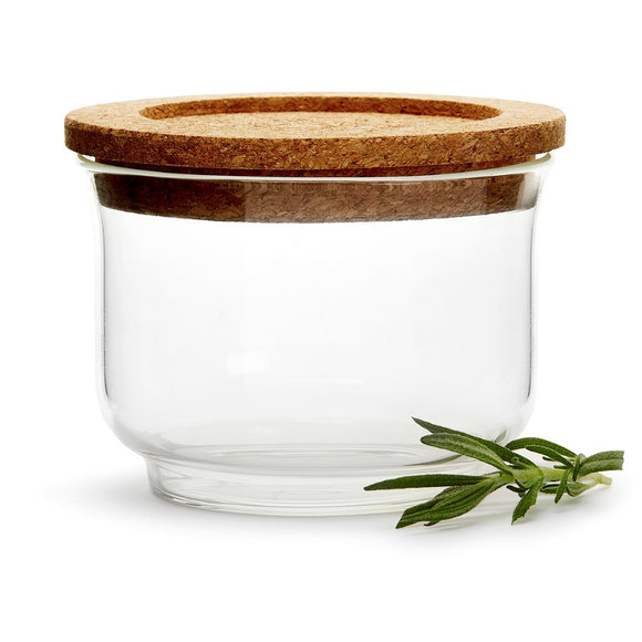 Nature storage jar glass / cork – Sagaform