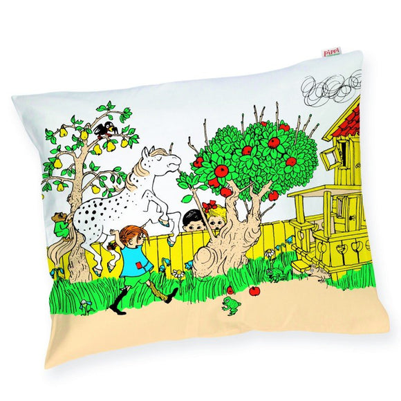 Strongest Girl in the World Pillowcase – Pippi Langkous