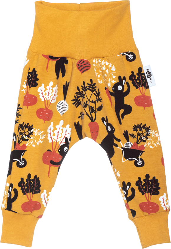 Broek Baggy LEIMU Harvest Dance Ochre-Rust – Paapii Design