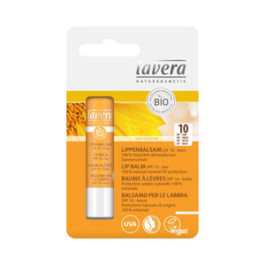 Lip Balm 100% natural mineral UV protection SPF10 - Lavera