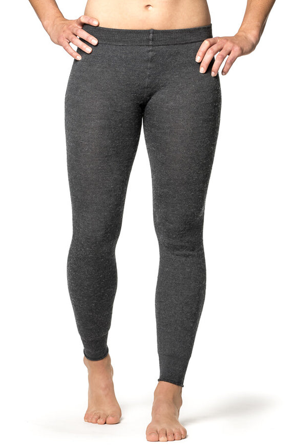 Thermo Legging Unisex / Long John 200 Grey - Woolpower