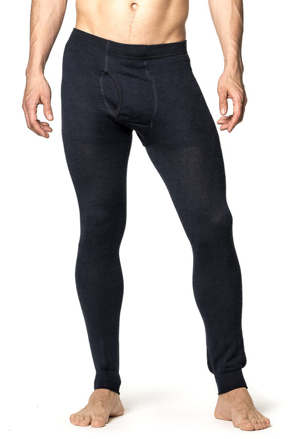 Thermo Long John with fly 200 of 400 Dark Navy - Woolpower
