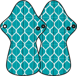 MaM Ecofit Maxi/Night Menstrual Pads Moroccan Tile – MaMidea (ManyMonths)