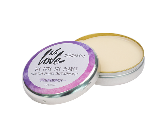 Natuurlijke deodorant blikje Lovely Lavender  – We Love The Planet