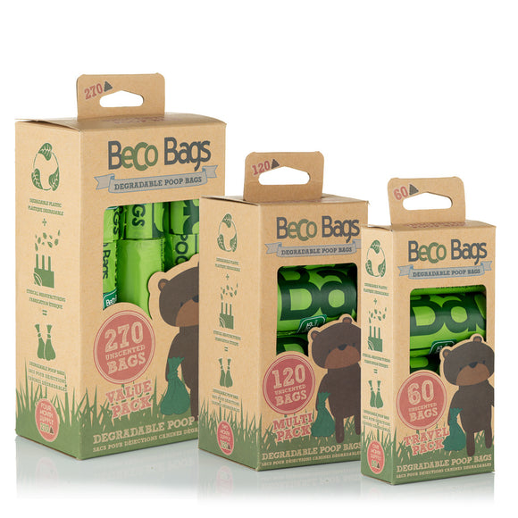 Beco Poop Bags Degradable - Beco Pets