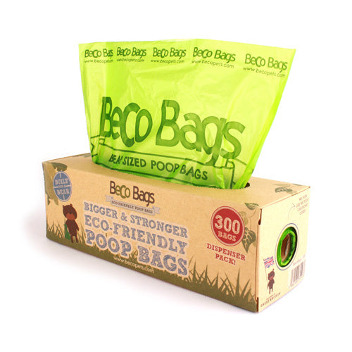 Beco Poop Bags 300 Dispenser Degradable - Beco Pets
