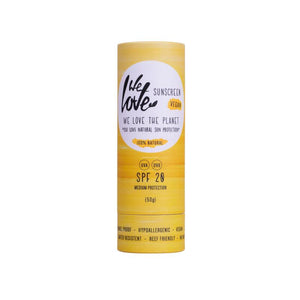 Natuurlijke zonnebrandcrème / Sunscreen Stick Vegan SPF 20 – We Love The Planet
