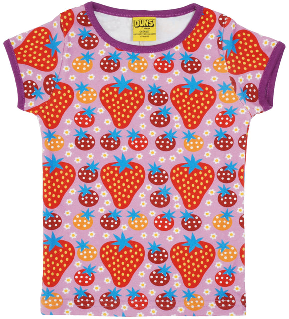 T-shirt Strawberry Field 68-152 - Duns Sweden