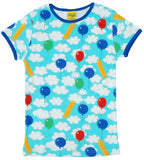 T-shirt / Short Sleeve Top A Cloudy Day - kids & adult - Duns Sweden