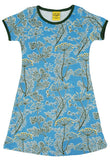 Tiener jurk Dress Dill Blue - Duns Sweden