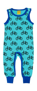 Playsuit / Dungarees Bike Turquoise - Duns Sweden