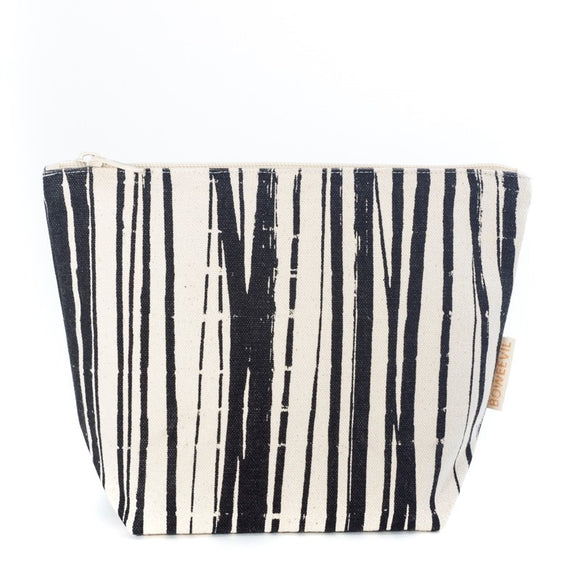 Toilettas / etui medium 'wrapping stripes' – Bo Weevil