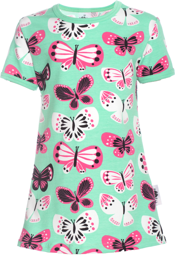 Tuniek VIOLA Butterflies Mint 86-122 – Paapii Design